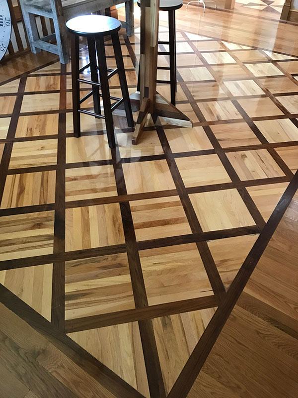 Contrast Hardwood Flooring