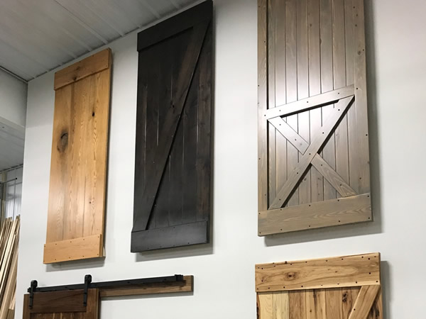 Sliding Barn Door Samples
