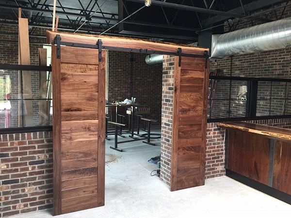 Sliding Wood Doors - Custom Millwork