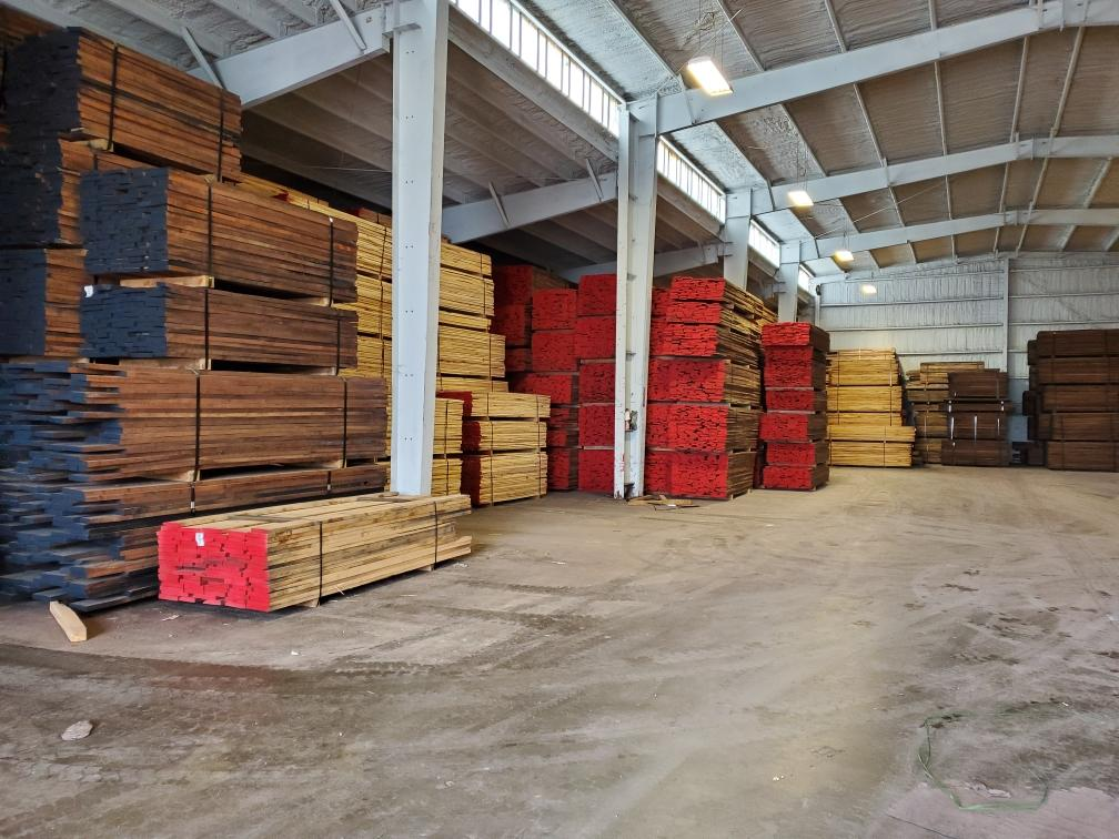 Dry Lumber in Novelty, MO Warehouse