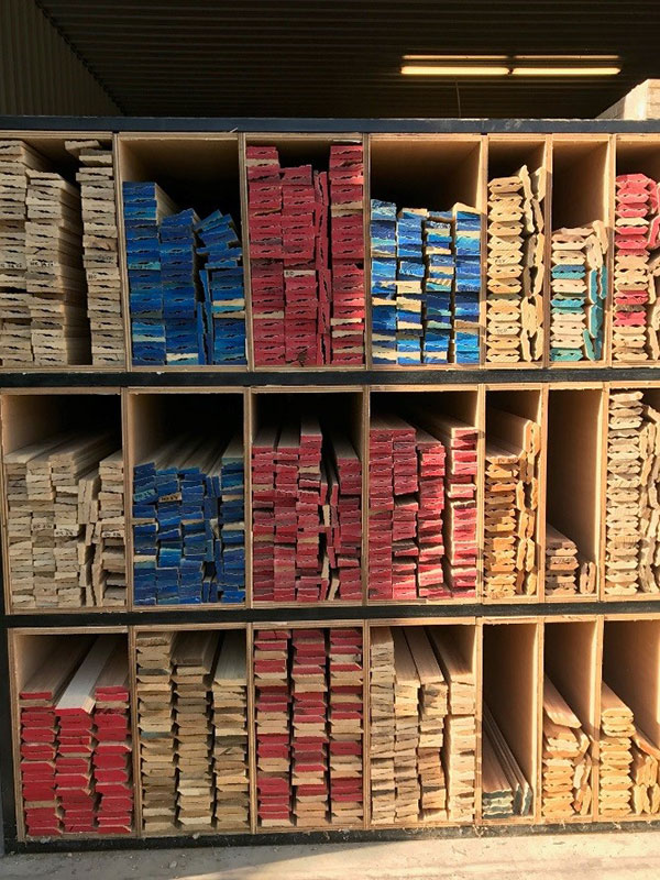 Trim Samples in Cardwell Retail Lumber Store