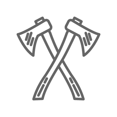 Axes Icon - Cardwell Hardwoods